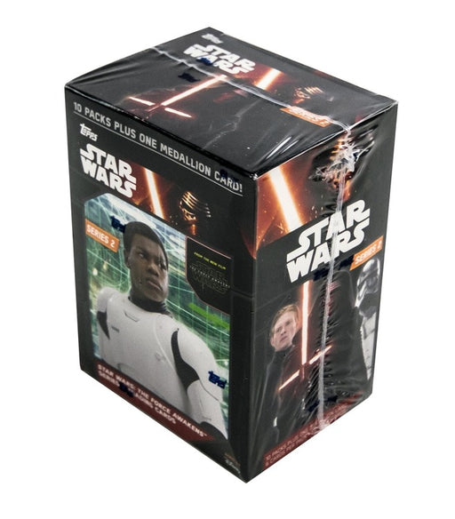 2016 Topps Star Wars The Force Awakens Series Two Blaster Box - Pastime Sports & Games