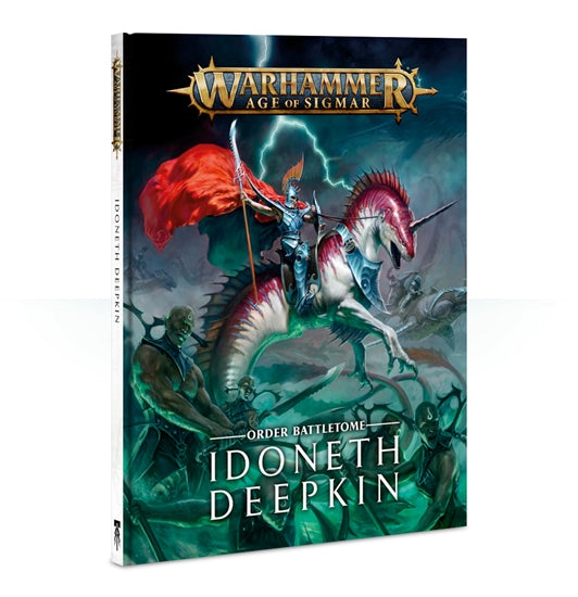 Warhammer Age Of Sigmar Order Battletome Idoneth Deepkin (87-01-60) - Pastime Sports & Games