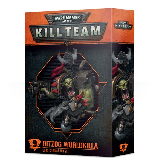 Warhammer 40,000 Kill Team Gitzog Wurldkilla Orks Commander Set (102-33-60) - Pastime Sports & Games