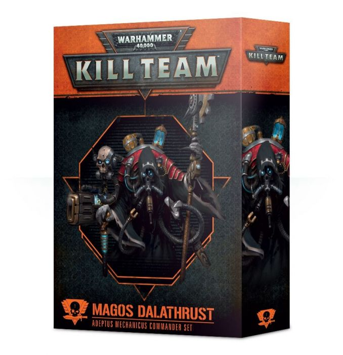 Warhammer 40,000 Kill Team Magos Dalathrust Adeptus Mechanicus Commander Set (102-42-60) - Pastime Sports & Games