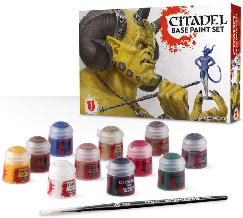 Citadel Base Paint Set (60-22) - Pastime Sports & Games