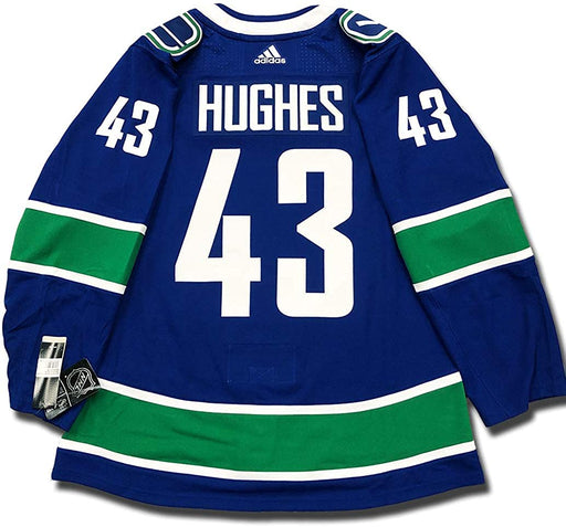 2018/19 Quinn Hughes Vancouver Canucks Home Jersey Adidas - Pastime Sports & Games