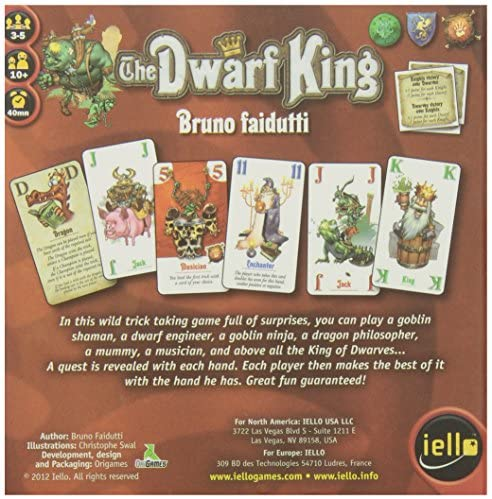 The Dwarf King - Pastime Sports & Games