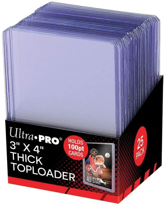 "Ultra Pro 3""X4"" Toploader Top Load Topload - Pastime Sports & Games"