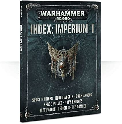 Warhammer 40,000 Index: Imperium 1 (Paperback) - Pastime Sports & Games