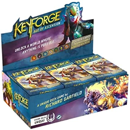 Keyforge Age of Ascension Booster - Pastime Sports & Games