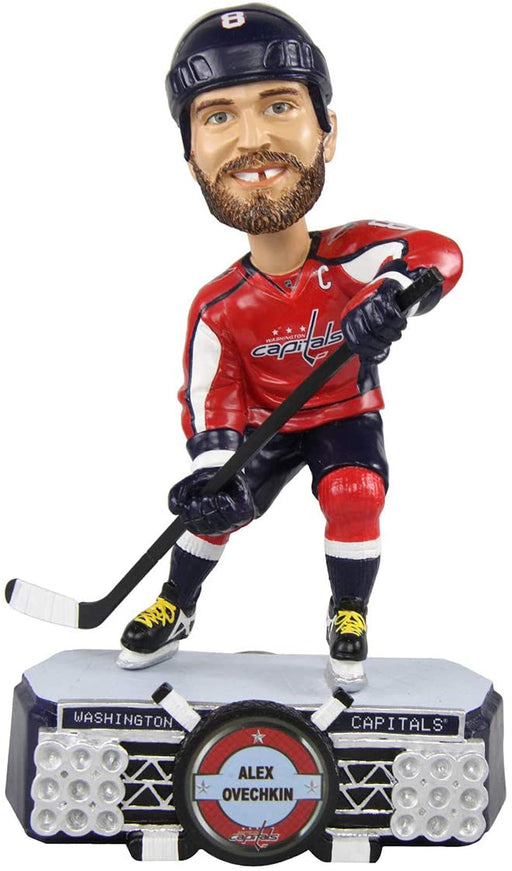 Alex Ovechkin Washington Capitals Bobblehead Hockey (Red FOCO) - Pastime Sports & Games
