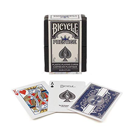 Bicycle Playing Cards: Prestige Plastic Duraflex Playing Cards