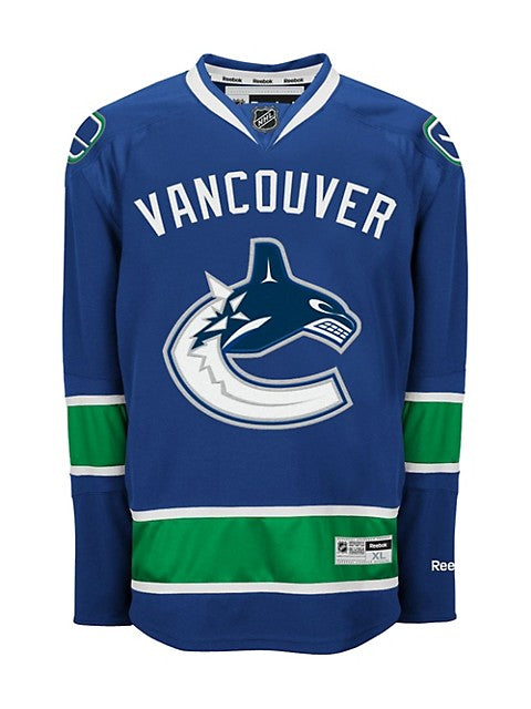 Jake Virtanen Autographed Vancouver Canucks Home Jersey Youth Reebok - Pastime Sports & Games