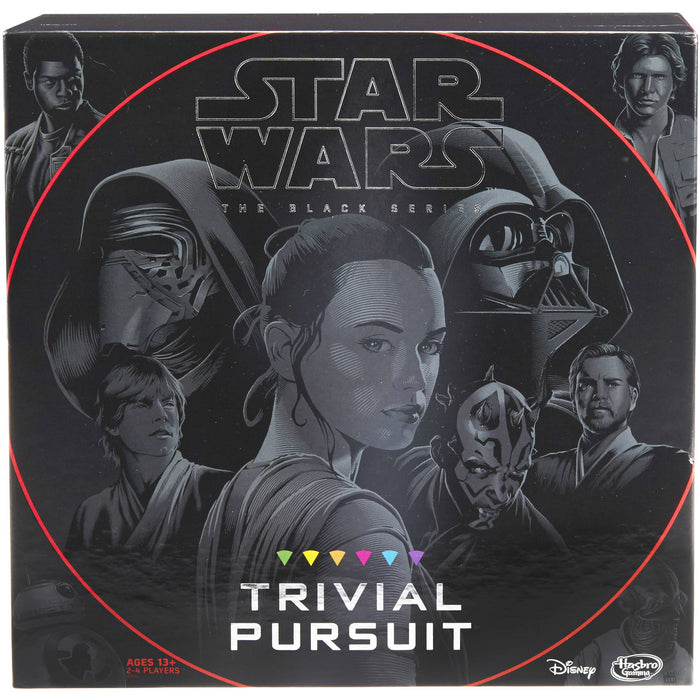 Trivial Pursuit Star Wars The Black Series Edition - Pastime Sports & Games