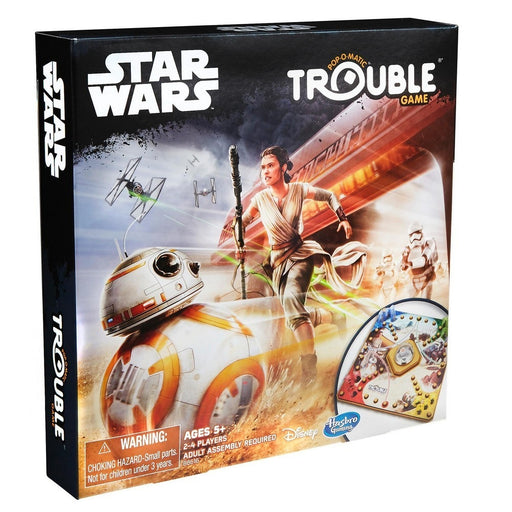 Star Wars Trouble Game - Pastime Sports & Games