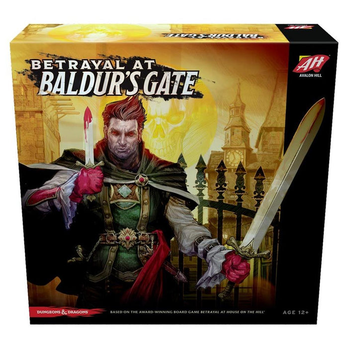 Betrayal at Baldur's Gate Fantasy Board Game Wizards of the Coast WOCC37100000 - Pastime Sports & Games