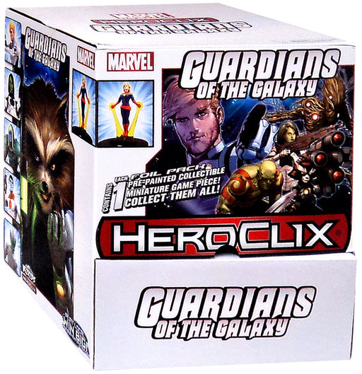 Marvel HeroClix Guardians of the Galaxy Booster Box - Pastime Sports & Games