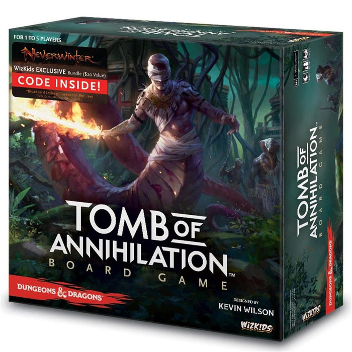 Dungeons & Dragons Tomb Of Annihilation Board Game - Pastime Sports & Games