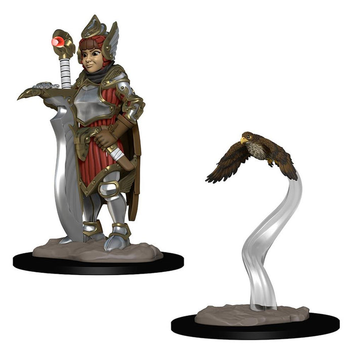 Wardlings: Girl Fighter & Hunting Falcon FanHeads Wizkids Wardlings Rpg Figures, 73315