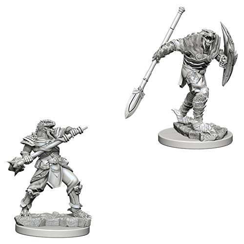 D&D Nolzur's Marvelous Miniatures Dragonborn Male Fighter with Spear W5 (73340)