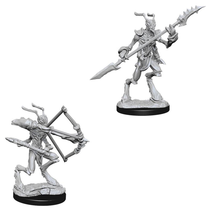 D&D Nolzur's Marvelous Miniatures Thri-Kreen (73352) - Pastime Sports & Games