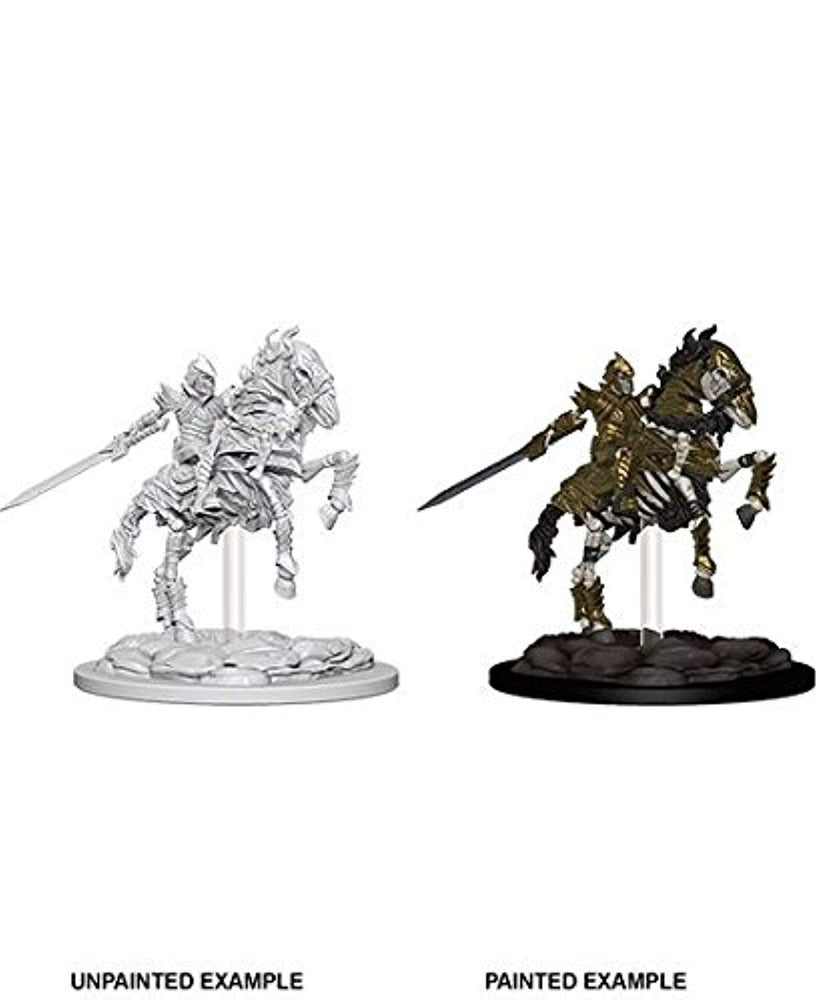 Pathfinder Deep Cuts Miniatures Skeleton Knight on Horse (73359) - Pastime Sports & Games