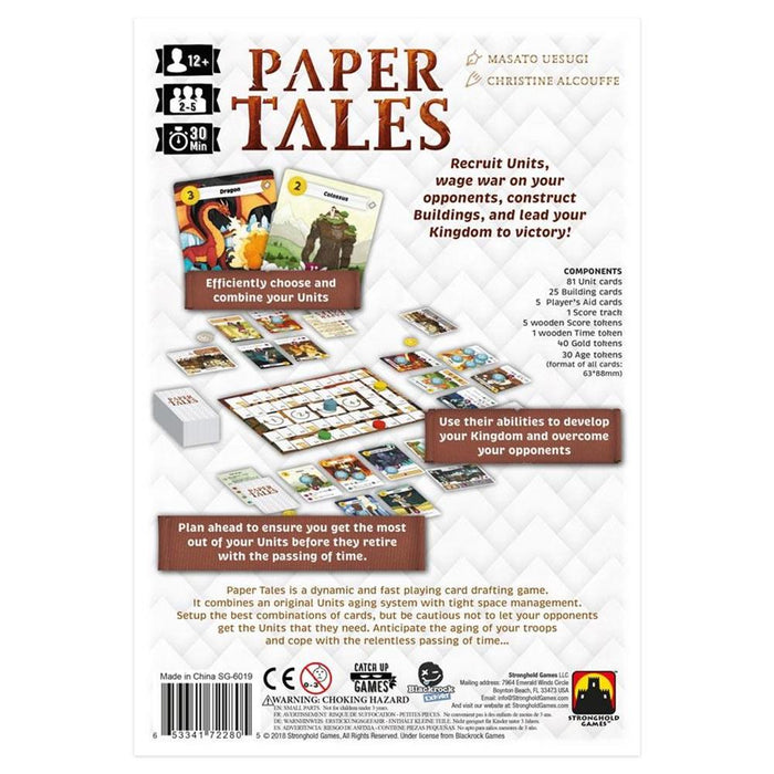 Paper Tales - Pastime Sports & Games