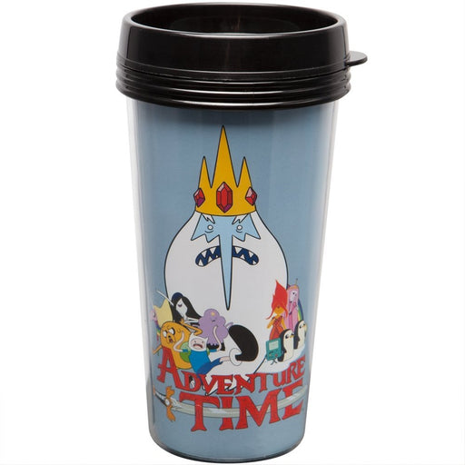 Plastic Travel Mug - Adventure Time - Movie 16oz ptmg-at-movie - Pastime Sports & Games