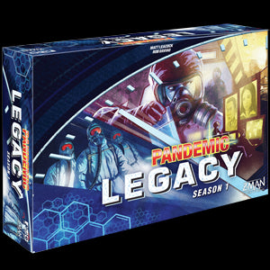 Pandemic Legacy Strategy Board Game Season 1 (Blue) - Pastime Sports & Games
