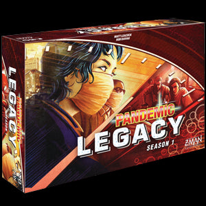 Pandemic Legacy Season 1 (Red Box) - Pastime Sports & Games