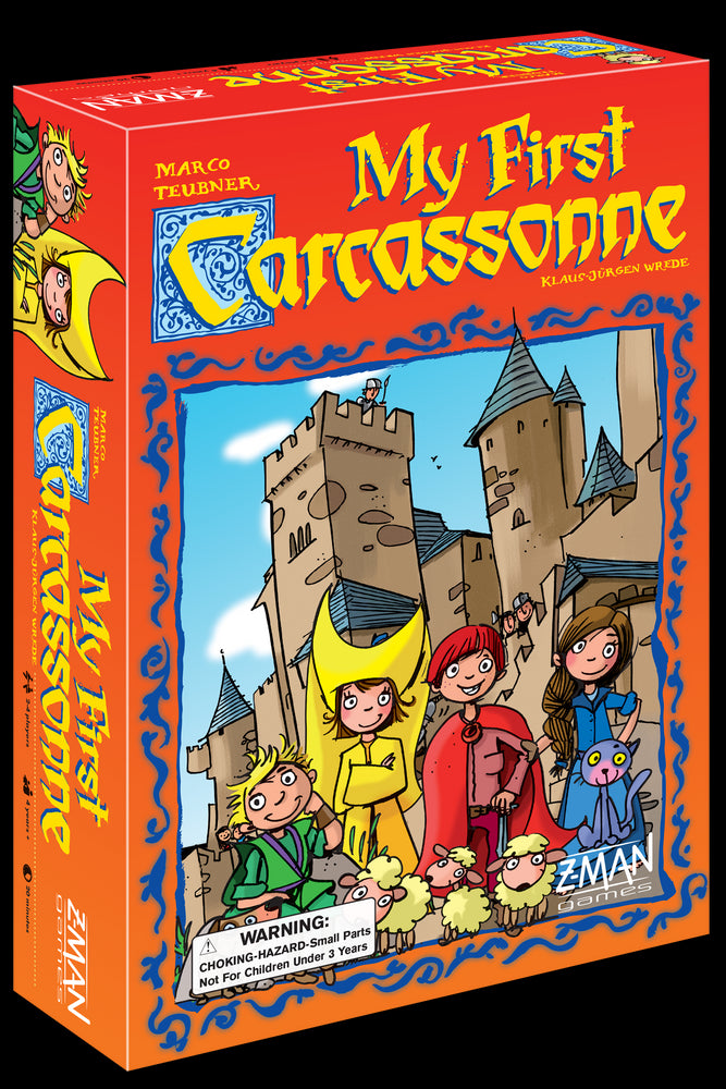 My First Carcassonne - Pastime Sports & Games