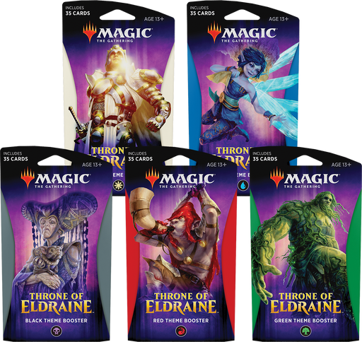 Magic The Gathering Throne Of Eldraine Theme Booster - Pastime Sports & Games