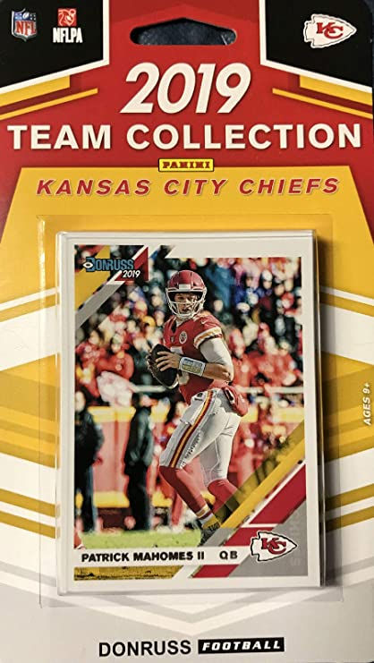 2019 Panini Donruss NFL Team Collection Kansas City Chiefs - Pastime Sports & Games