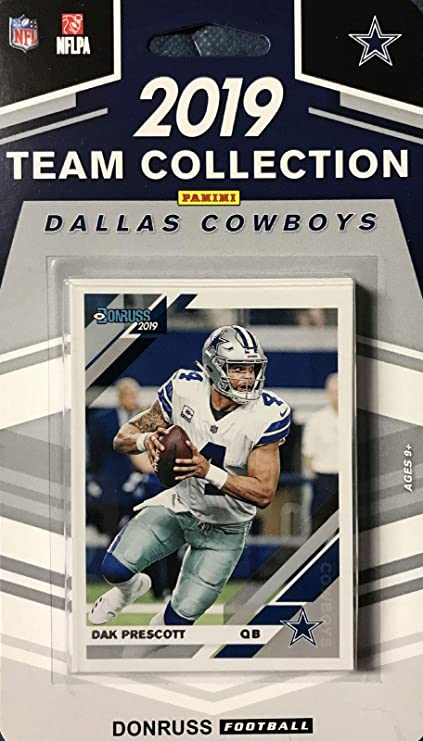 2019 Panini Donruss NFL Team Collection Dallas Cowboys - Pastime Sports & Games