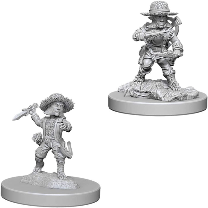 Pathfinder Battles Deep Cuts Male Halfling Rogue W6 (73407) - Pastime Sports & Games