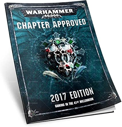 Warhammer 40,000 Chapter Approved 2017 Edition - Pastime Sports & Games