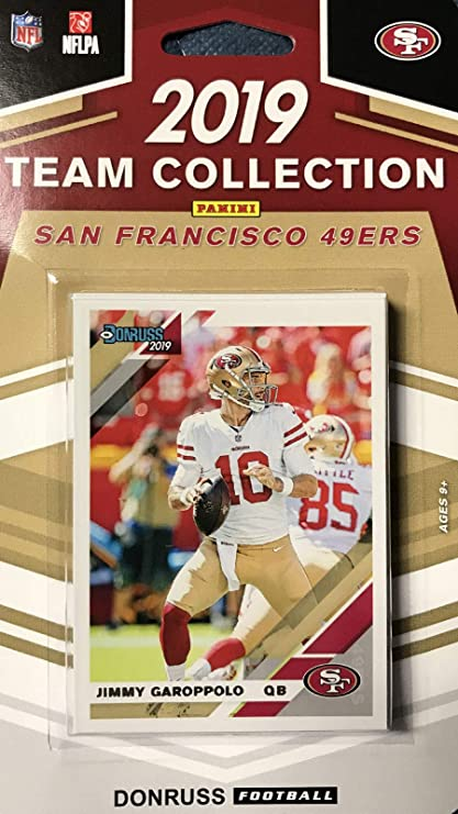 2019 Panini Donruss NFL Team Collection San Francisco 49ers - Pastime Sports & Games