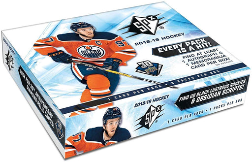 2018/19 Upper Deck SPx Hockey Hobby