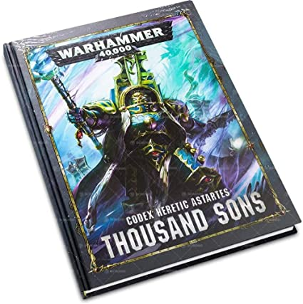 Warhammer 40,000 Codex Heretic Astartes Thousand Sons (43-09-60)