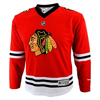 Chicago Blackhawks Youth Home Red Jersey - Pastime Sports & Games