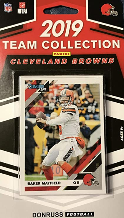 2019 Panini Donruss NFL Team Collection Cleveland Browns - Pastime Sports & Games