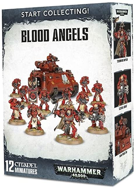 Warhammer 40,000 Start Collecting! Blood Angels (70-41) - Pastime Sports & Games
