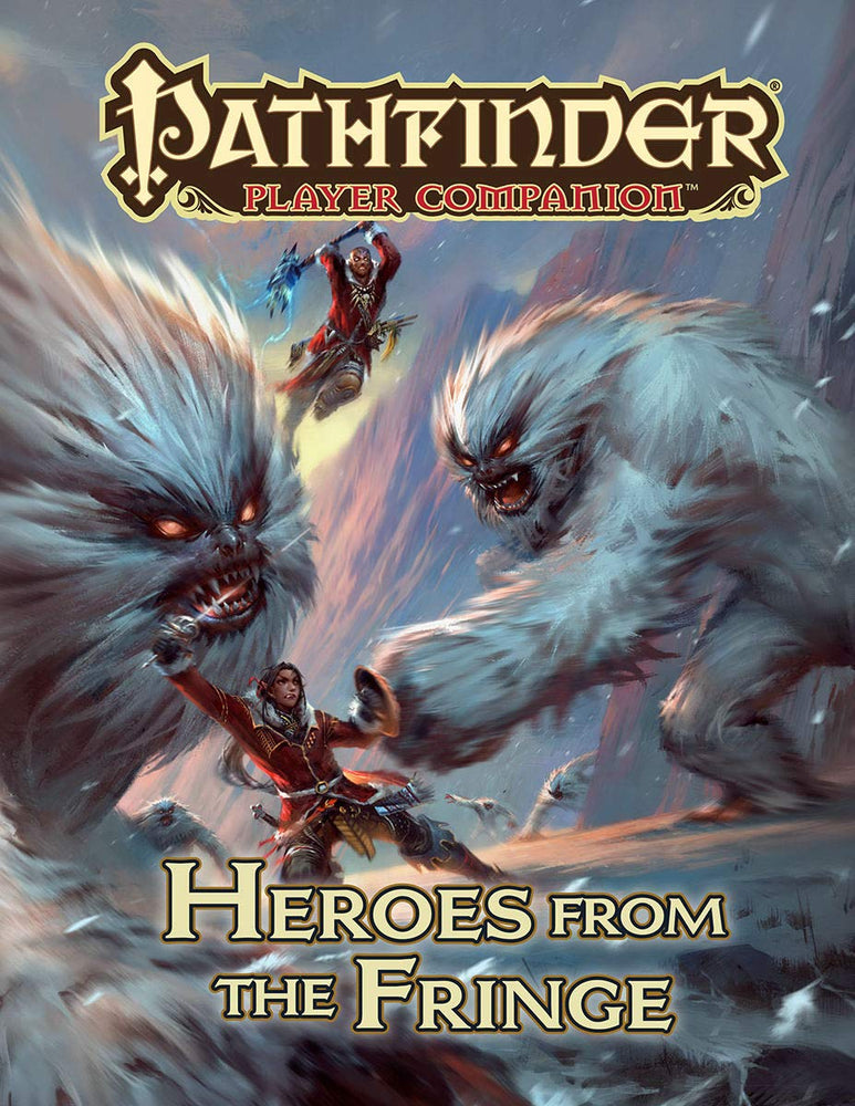 Pathfinder Player Companion Heroes From The Fringe - Pastime Sports & Games