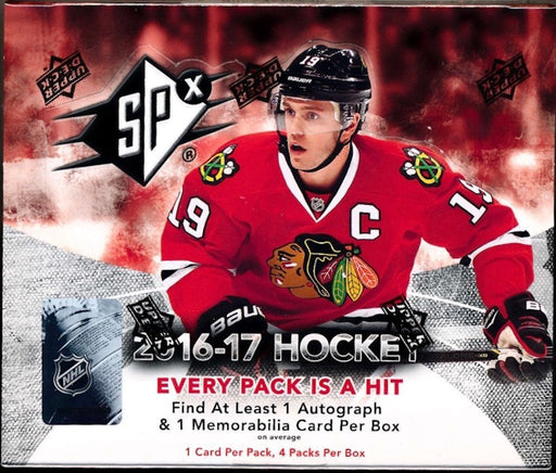 2016/17 Upper Deck SPx Hockey Hobby - Pastime Sports & Games