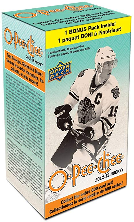 2012/13 O-Pee-Chee Hockey Blaster Box - Pastime Sports & Games