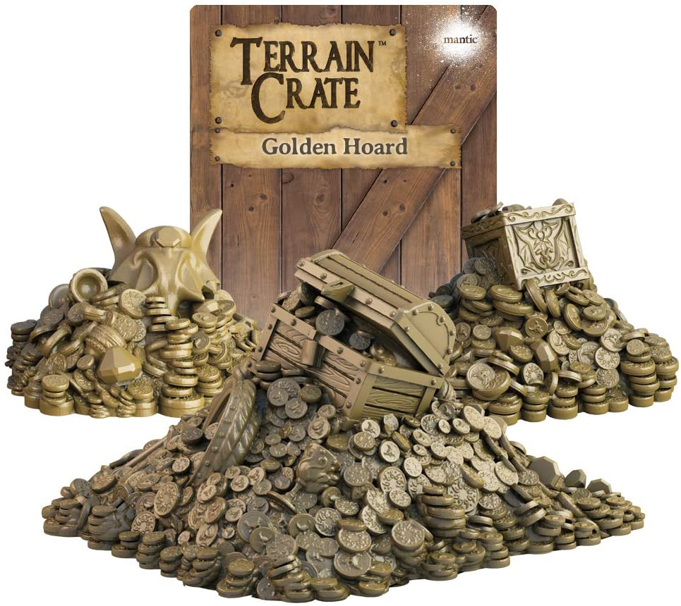 Terrain Crate: Golden Hoard - Pastime Sports & Games