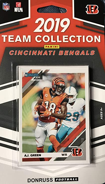 2019 Panini Donruss NFL Team Collection Cincinnati Bengals - Pastime Sports & Games