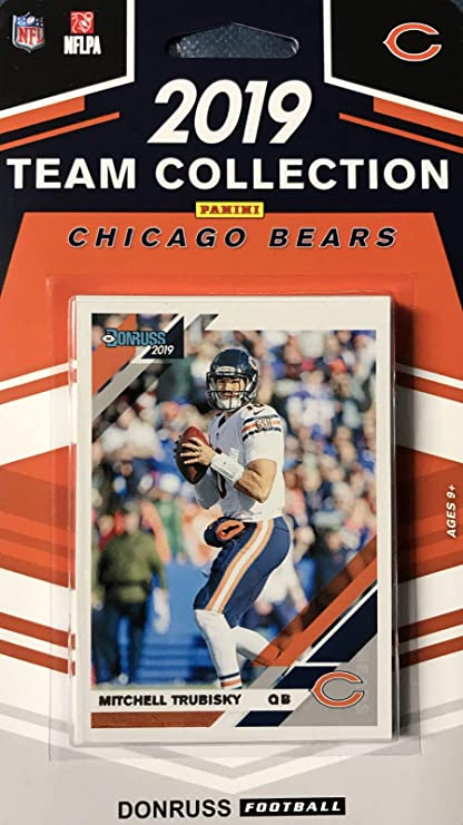 2019 Panini Donruss NFL Team Collection Chicago Bears - Pastime Sports & Games