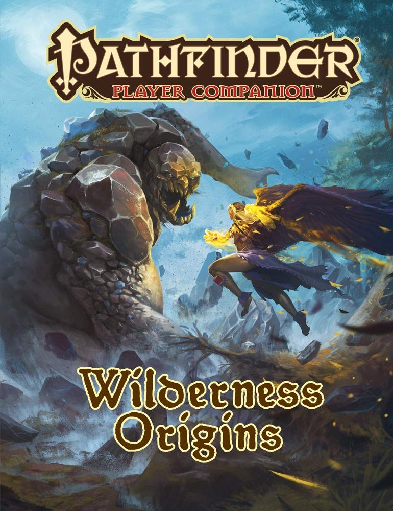 Pathfinder Player Companion Wilderness Origins - Pastime Sports & Games