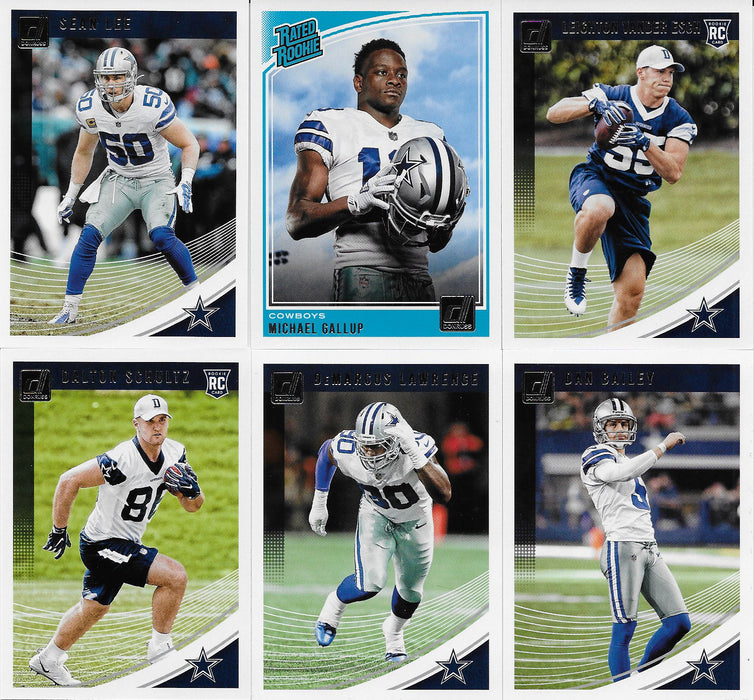 2018 Panini Dallas Cowboys Team Collection - Pastime Sports & Games