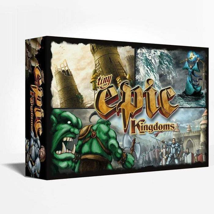 Tiny Epic Kingdoms Main Game & Expansions (Sold Separately) - Pastime Sports & Games