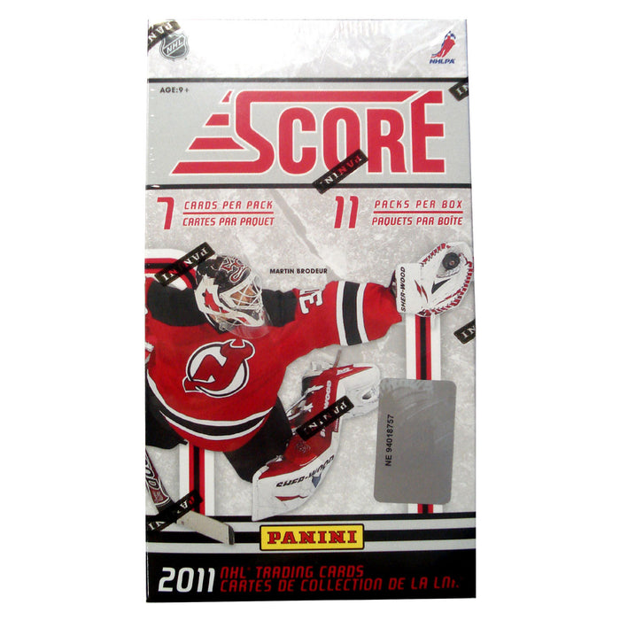 2011 Panini Score Hockey Blaster Box - Pastime Sports & Games