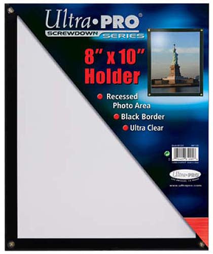 "Ultra Pro Screwdown Series 8""X10"" Holder - Pastime Sports & Games"