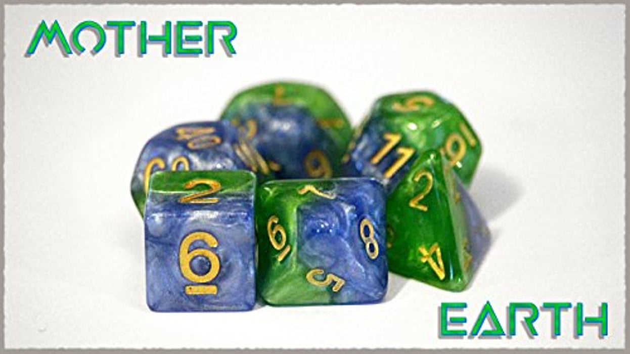 Poly Set Mother Earth (7) - Pastime Sports & Games